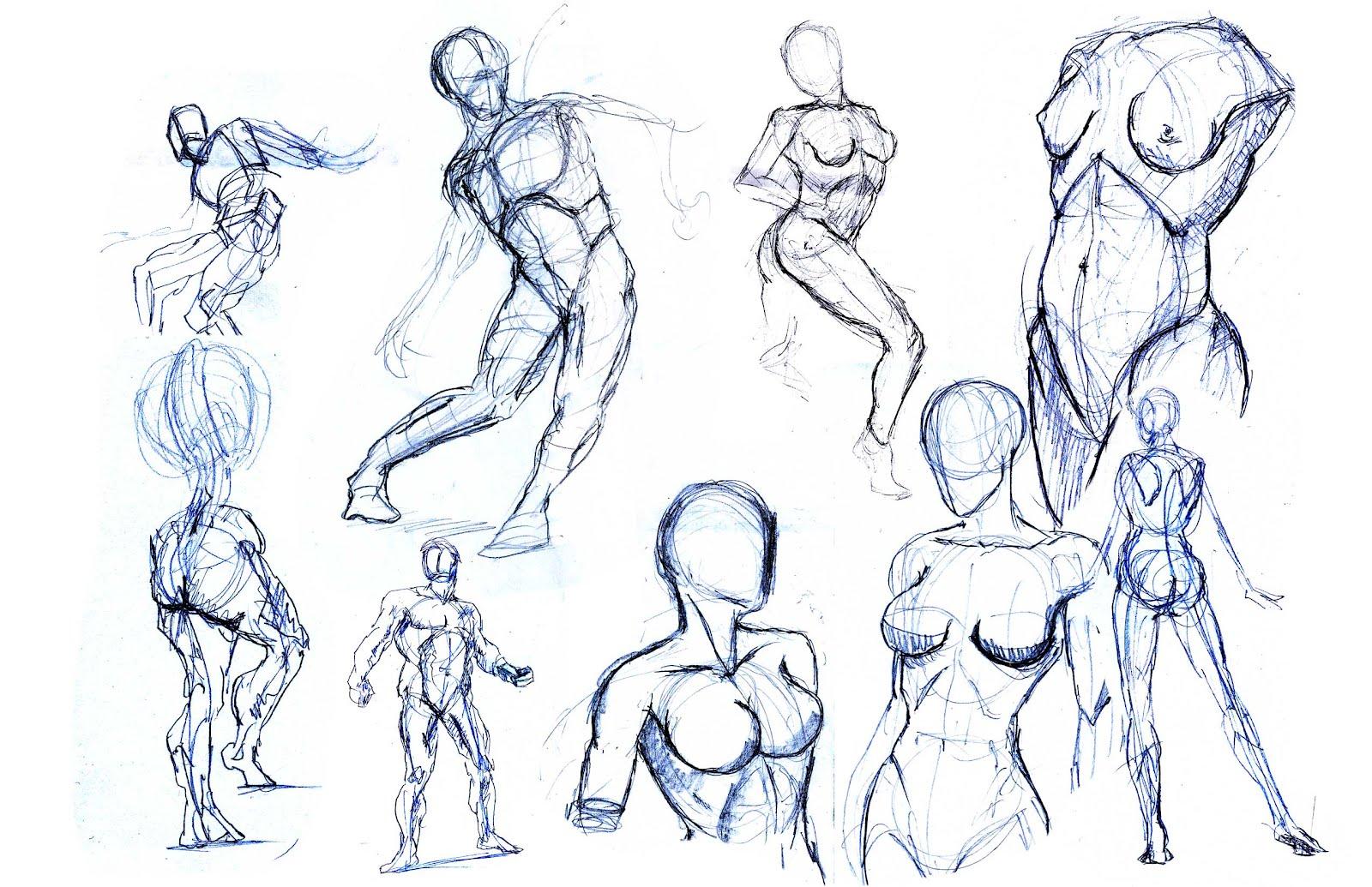 HE and his ART: Anatomy Practice