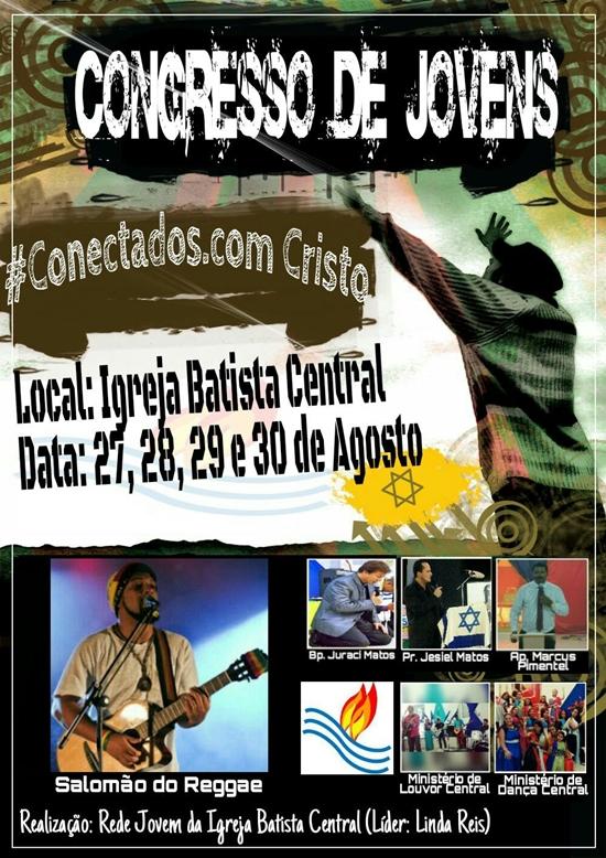 Congresso de Jovens #Conectados.com Cristo em Gandu-BA
