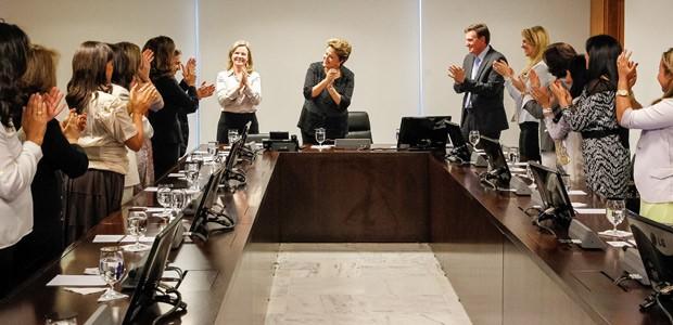 Cantoras gospel prestam solidariedade e apoio para Dilma Rousseff