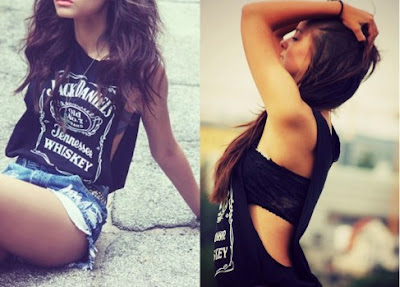 Modelos de Camisetas Cavadas