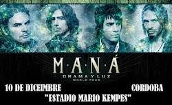Maná hoy en Córdoba Argentina