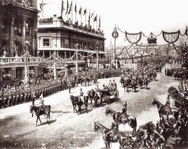 Parade honouring Queen Victoria's Diamond Jubilee, London, Ontario, 22 June 1897