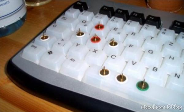 Keyboard, teclado Anti Jogadores