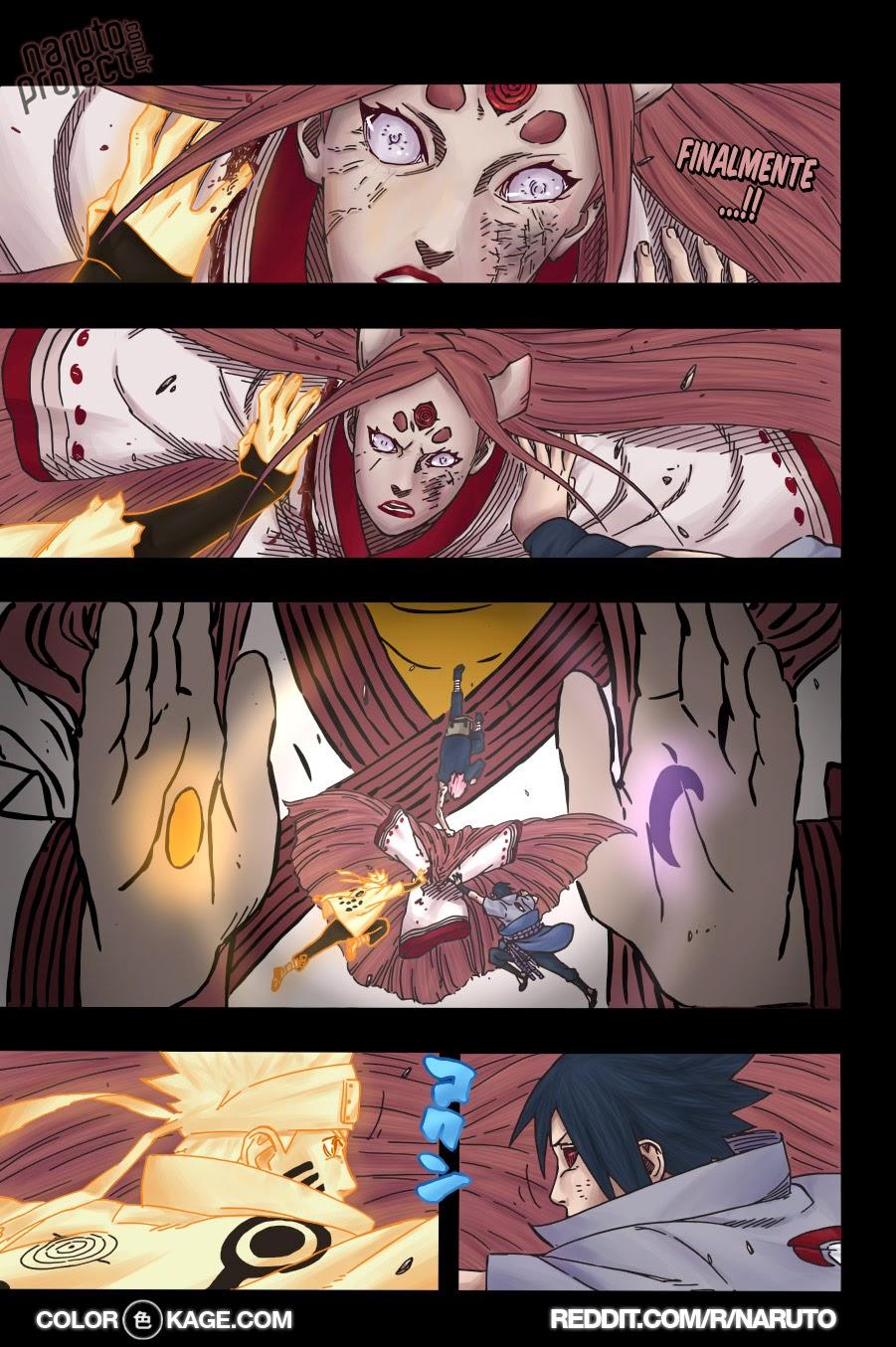 Naruto 690 Mangá Colorido leitura online