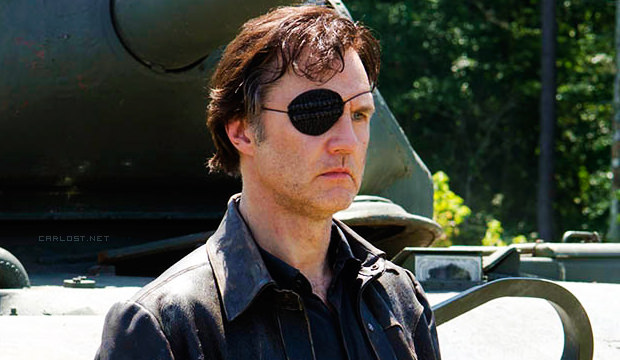 "El Gobernador (David Morrissey) en The Walking Dead 4x08 ""Too Far Gone"""