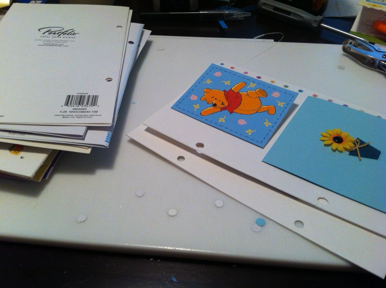 Diy Greeting Card Keepsake Album