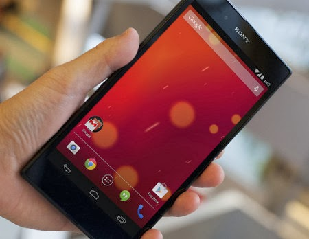 Sony Xperia Z Ultra Google Play Edition with KitKat OS