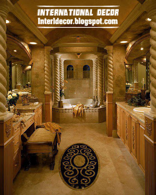 Royal Bathroom Design And Luxurious Accessories
