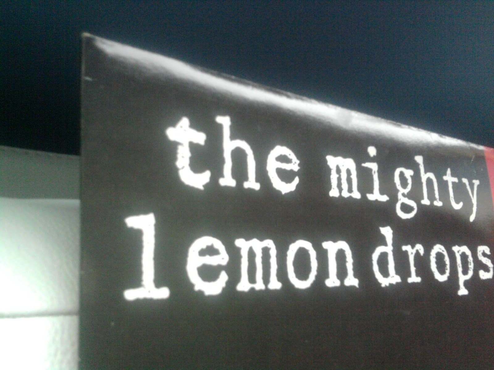 Mighty Lemon Drops, The - Out Of Hand EP