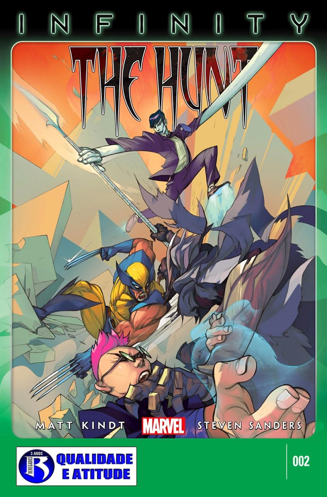 Nova Marvel! Infinito: A Caçada #2