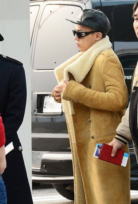Airport Fashion G-Dragon Hong Kong 2