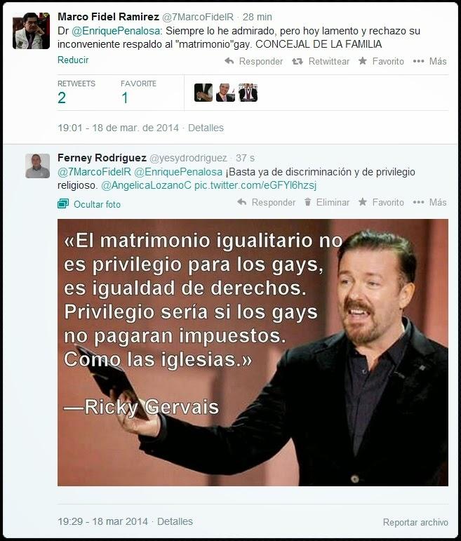 Apoyo religioso a los gays