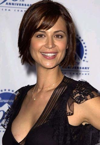 Catherine Bell is a strikingly beautiful Britishborn American actress who