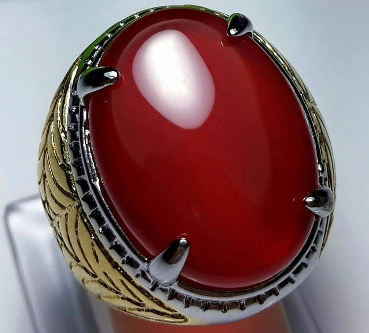 Batu Natural Red Carnelian Crystal Big Size
