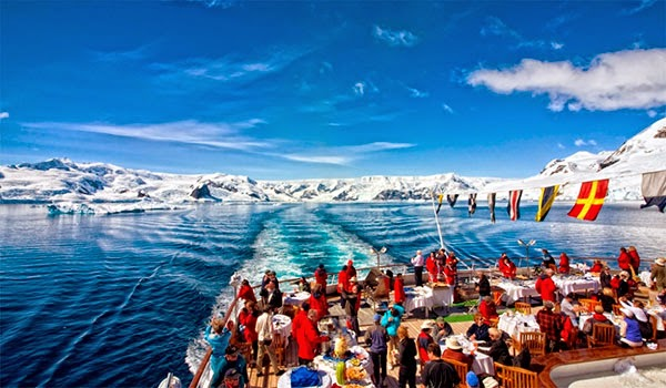 Подплывая к Антарктиде
