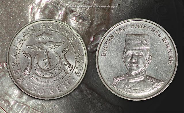 50 sen 2009 Brunei coin