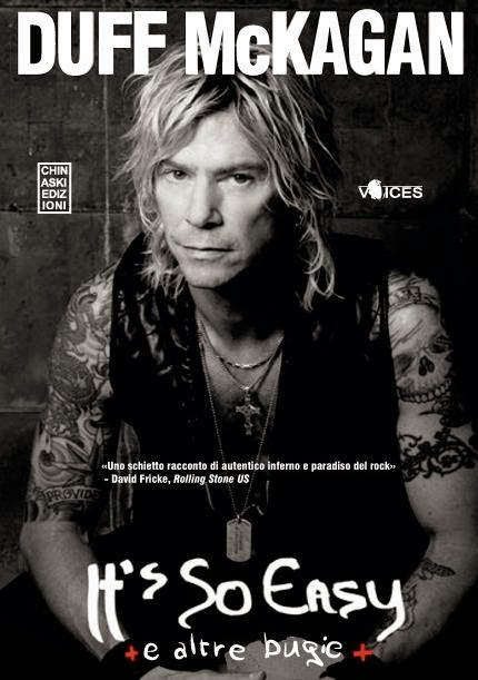 Duff McKagan L'autobiografia ufficiale