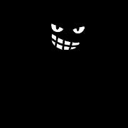 悪人のイラスト「黒いシルエット」