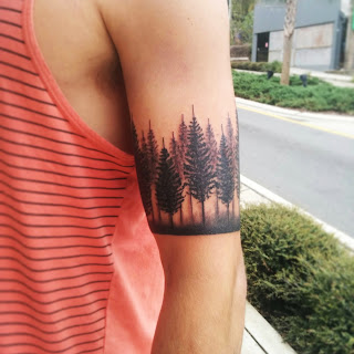 Tree Line Tattoo