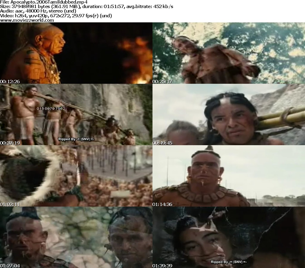 Apocalypto Hindi Dubbed Watch Online Free by ...