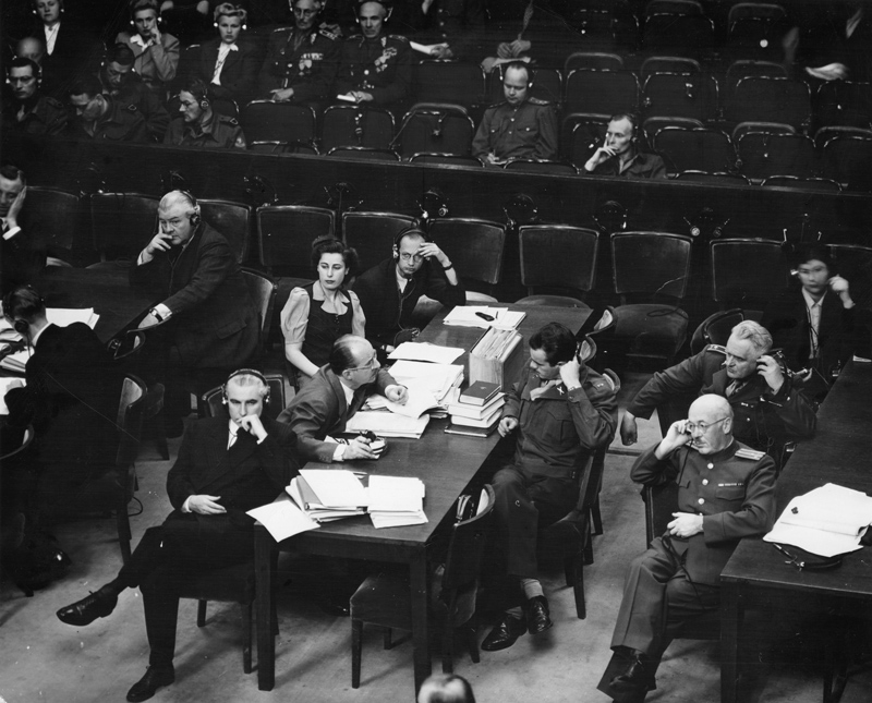 nuremberg trial The nuremberg trials after the war, some of those responsible for crimes  committed during the holocaust were brought to trial nuremberg, germany, was .
