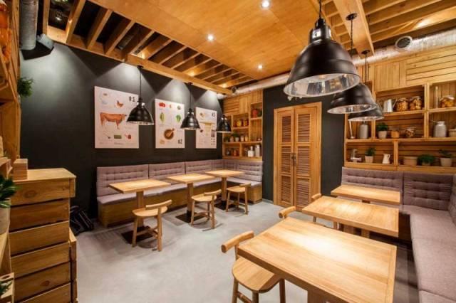 Contoh desain cafe minimalis rumah kreatif