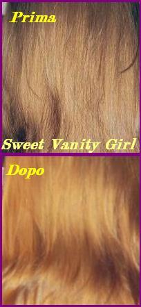 Camomilla e capelli