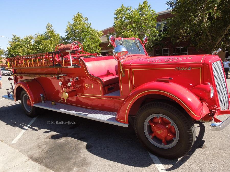 Old Mack Vintage Fire Engine Paso Robles C B Radisavljevic