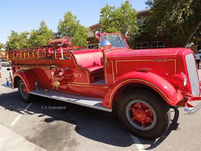 """Old Mack"" Vintage Fire Engine, Paso Robles, © B. Radisavljevic"