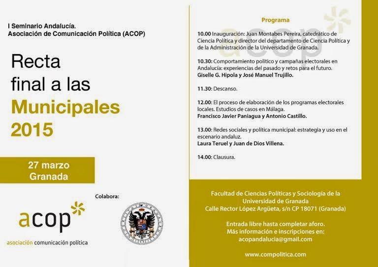 http://compolitica.com/events/i-seminario-andalucia-recta-final-municipales-2015/