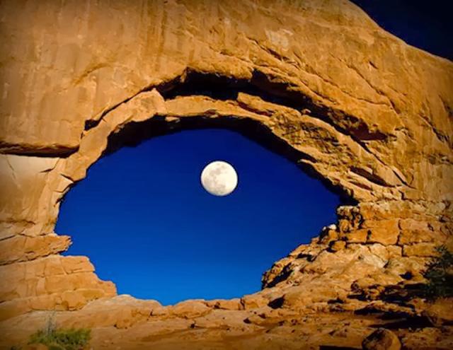 O olho da Lua