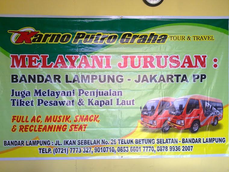 karno tour & travel  JAKARTA - LAMPUNG PP