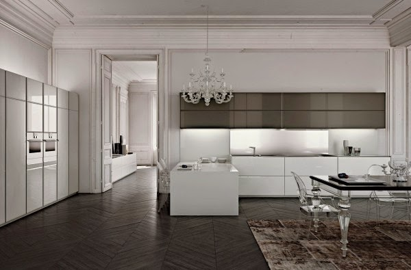 Cool modern minimalist kitchen designs and ideas for Elegant modern kitchen designs