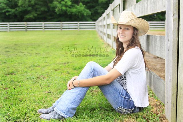 Hendersonville Senior Pictures Cowboy Hat
