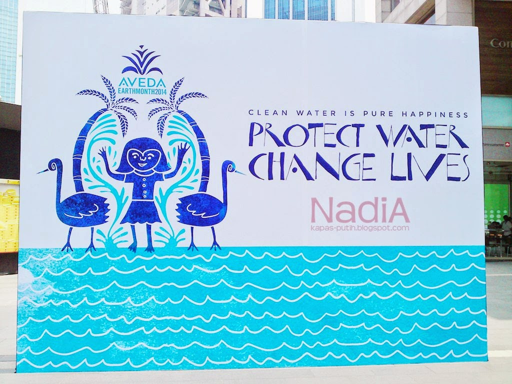 Protect water, change lives Pavillion