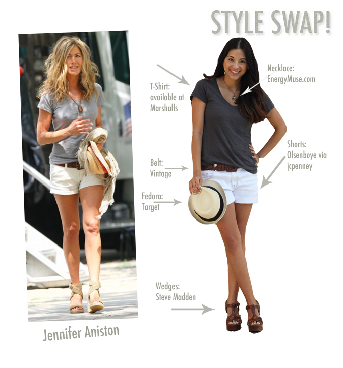 Style swap jennifer aniston viva fashion Jennifer aniston fashion style pictures