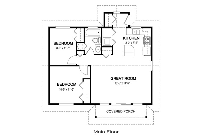 Simple house plans simple house plans houseplanscom for Floor plans with photos