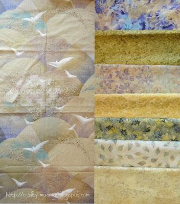 wedding quilt fabrics