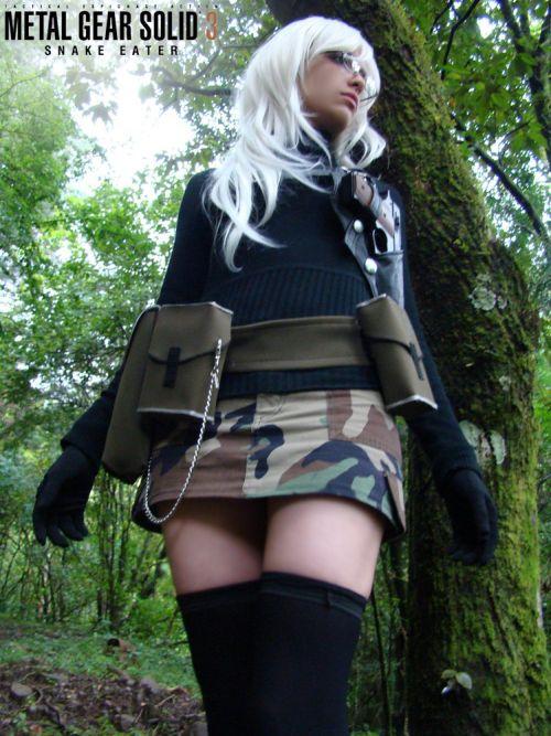 Angela Bermúdez deviantart incríveis cosplays filmes games linda nerd Metal Gear Solid 3