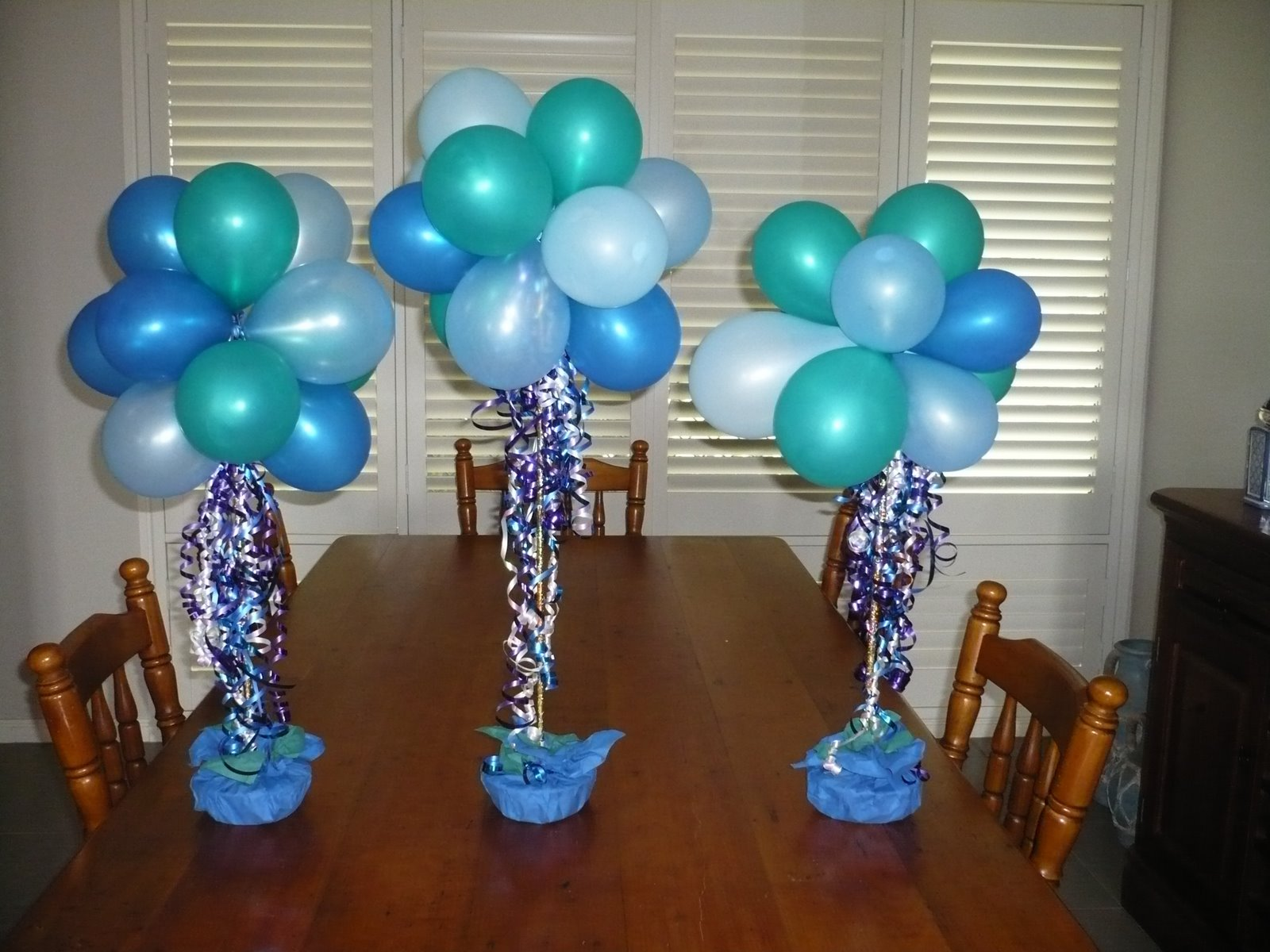 Homemade 90th birthday favors centerpieces eho for 90th birthday decoration ideas