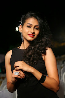 Actress Nitya Naresh  Pictures in Short Dress at Kerintha Audio Release Function  0025.jpg
