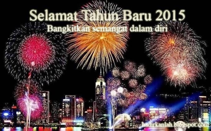 Gambar Ucapan Selamat Tahun Baru 2015 - Kata Happy New Year 2015