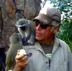 Pete and Two Friends in Africa