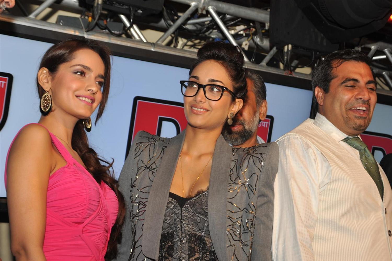 shazahn padamsee spicy in pink dress at event actress pics