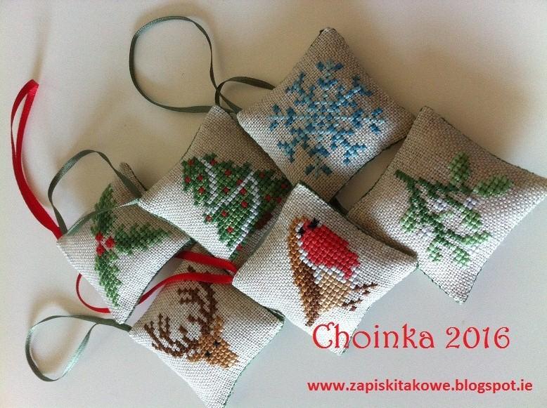 Całoroczna zabawa u Kasi G.- Choinka2016