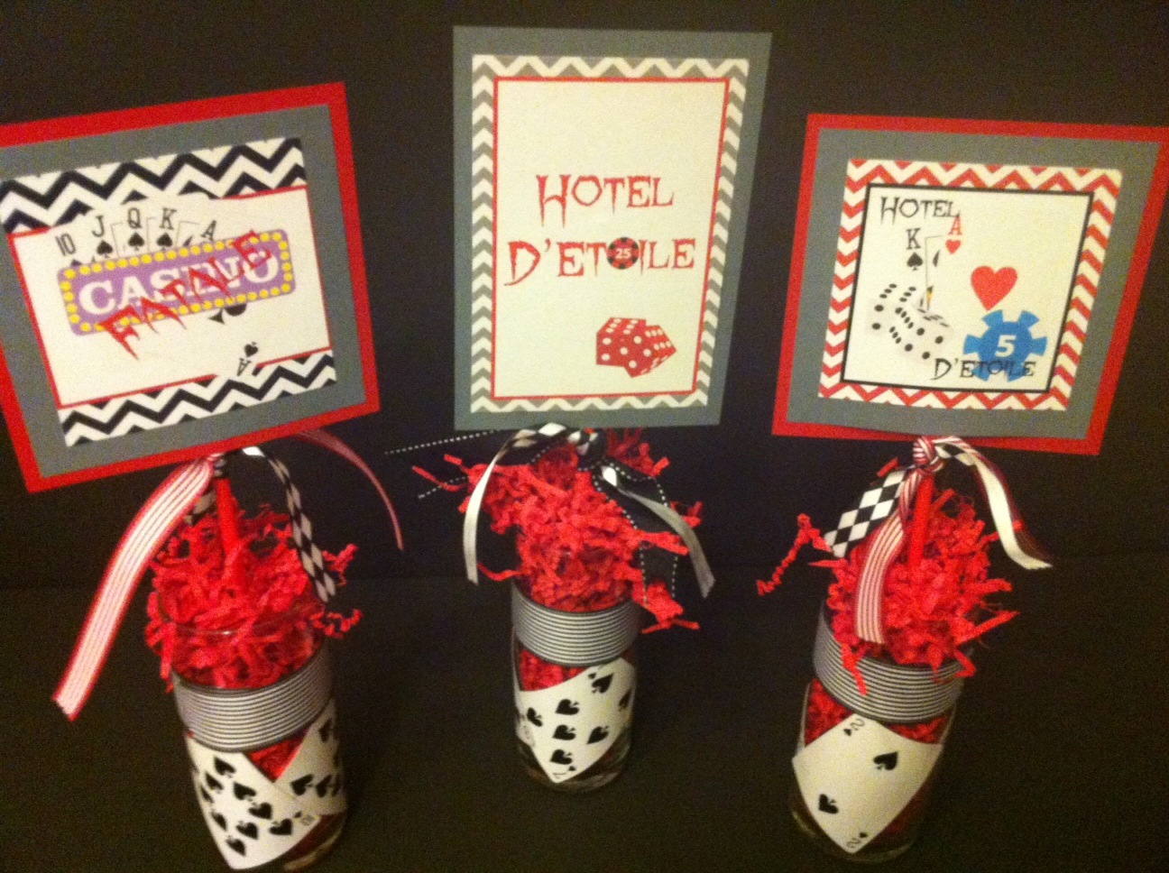 Casino Party Decorations Party Favors Ideas