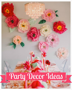 Celebrate & entertain guests in style this summer with these fabulous party decor ideas.