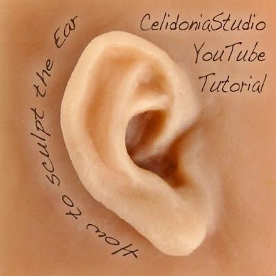 Come Modellare l'Orecchio - Celidonia Studio YouTube Tutorial