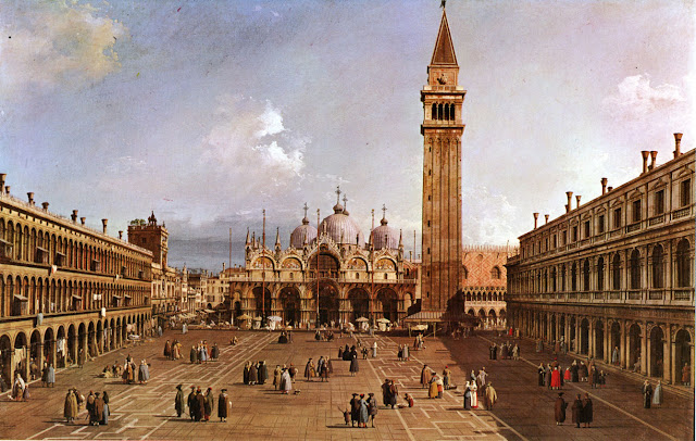 Expositions  Canaletto-Piazza_san_Marco-1740