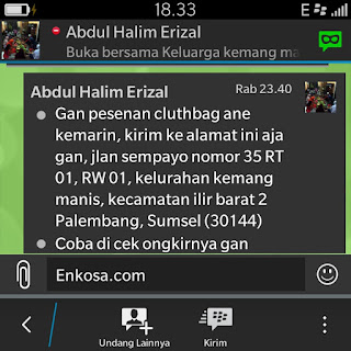 Alamat lengkap Halim/Yadi enkosa sport toko online pakaian bola terpercaya lokasi di jakarta